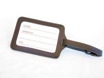 étiquette de bagage Image libre de droits