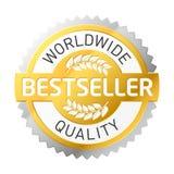 étiquette de best-seller Image stock