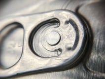 Étiquette de bruit pour ouvrir la fin de boîte de soude  Images stock