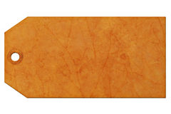Étiquette de cadeau Image stock