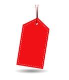 Étiquette de cadeau illustration libre de droits