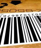 Étiquette de code à barres Photos stock