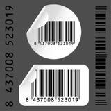 étiquette de code à barres Photos libres de droits