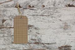 Étiquette de papier pour l'empaquetage Image libre de droits