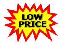 étiquette de prix bas illustration de vecteur