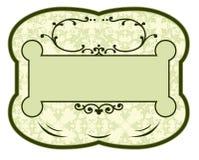 Étiquette de produit de cru Illustration Libre de Droits
