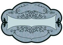 Étiquette de produit de cru Illustration de Vecteur