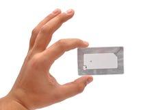 Étiquette de RFID image libre de droits