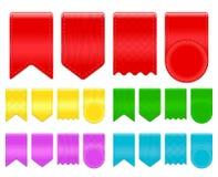 Étiquette de ruban Photo libre de droits