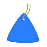 Étiquette de triangle. illustration stock