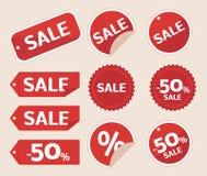 Étiquette de vente Photos libres de droits