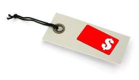 Étiquette de vente avec l'espace de copie Photos libres de droits