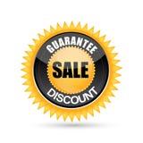 Étiquette de vente et d'escompte Photo stock