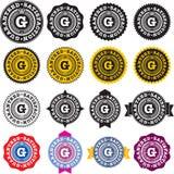 Étiquette garantie de satisfaction Image libre de droits