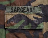 Étiquette militaire Photos libres de droits