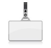 Étiquette nommée de vecteur Photographie stock