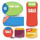étiquette ou bannière Photo stock