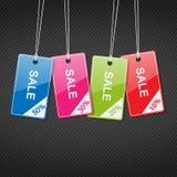 Étiquettes à vendre Image libre de droits