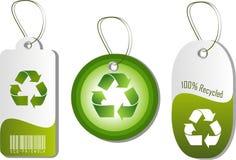 Étiquettes d'Eco illustration de vecteur