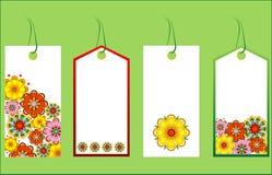 Étiquettes de cadeau Image libre de droits
