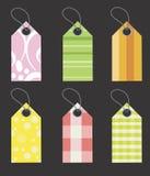 étiquettes de collants d'ollection Photos stock
