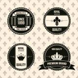 Étiquettes de cru Images stock
