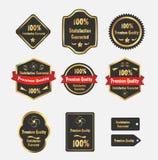Étiquettes de la meilleure qualité de qualité Photographie stock libre de droits