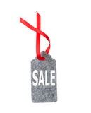 Étiquettes de vente Étiquettes de cadeau d'isolement sur le fond blanc Images stock