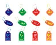 Étiquettes de vente Photo stock