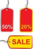 Étiquettes de vente Image libre de droits