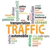Étiquettes du trafic Photos libres de droits