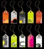 Étiquettes et collants Images stock