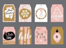 Étiquettes pour des cadeaux Photographie stock