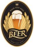 Étiquettes pour la bière illustration de vecteur