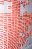 étiquettes vendues Photographie stock libre de droits