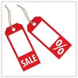 Étiquettes - ventes Photos stock