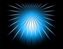 Étoile abstraite dans le symbole de globe de cercle Photographie stock libre de droits