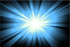 étoile abstraite de lumière de fond Photographie stock libre de droits