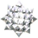 Étoile argentée 4 Image libre de droits