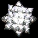 Étoile argentée Photo stock