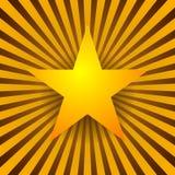 Étoile au-dessus d'éclater le fond illustration libre de droits