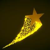 Étoile avec la poussière Photos libres de droits