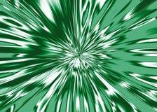 Étoile blanche bursty du vert de fond Photographie stock libre de droits