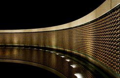 Étoile commémorative Wal de la deuxième guerre mondiale Image stock