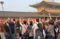 Étoile coréenne Corée de TV Photographie stock libre de droits