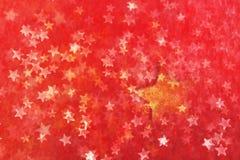 étoile couverte Images stock