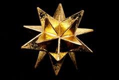 Étoile d'or Images stock