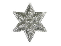 Étoile d'arbre de Noël Images libres de droits