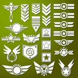Étoile d'armée illustration stock