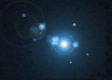Étoile dans l'univers Image libre de droits